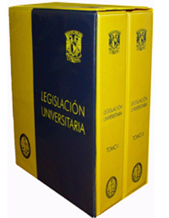 foto de libros de legislación universitaria