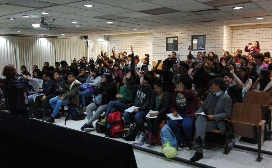 fotografía de alumnos de bachillerato